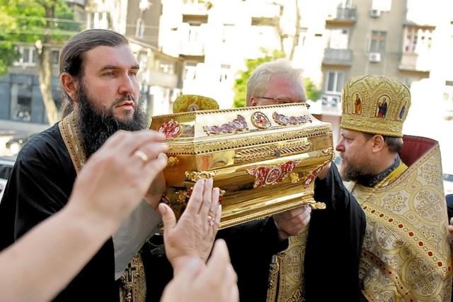 Les reliques de saint Vladimir à Odessa