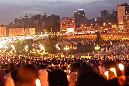 Place Meskel - Addis Abeba