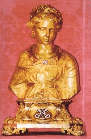 Reliquaire du chef de saint Mammès à la cathédrale de Langres
