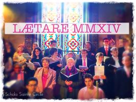 La Schola Sainte Cécile le dimanche de Lætare 2014 - 01