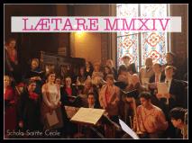 La Schola Sainte Cécile le dimanche de Lætare 2014 - 02