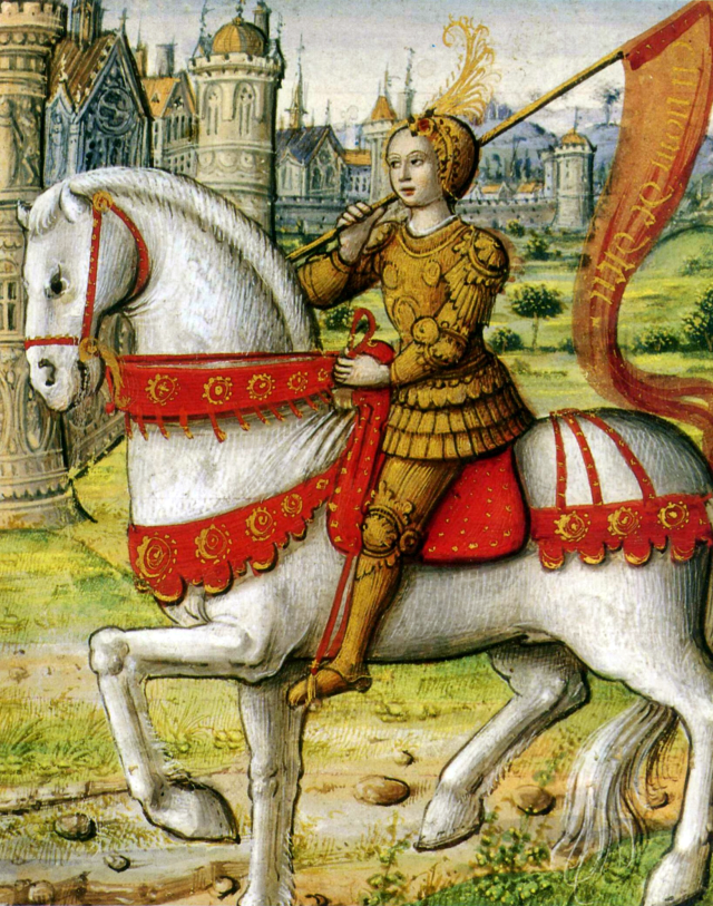 Sainte Jeanne d'Arc, patronne secondaire de la France