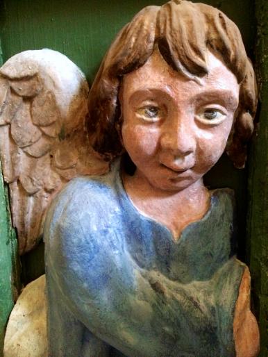 03 Ange - détail d'un autel de la collégiale Saint-Martin de Bollène