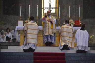09 - Messe de la fête de Notre-Dame della Guardia - la bénédiction finale