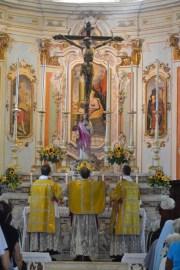 12 - Messe des 7 joies de la Vierge - encensement de l'autel à l'introït