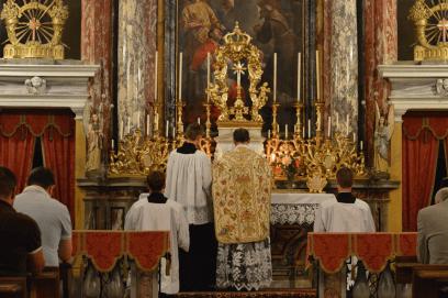 Messe de la fête du saint Cœur de Marie près de Turin 09