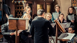 Requiem pour Louis XVI en 2014 - chant du Requiem d'Eustache du Caurroy