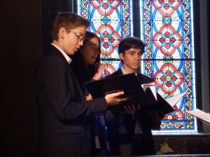Rameaux 2015 - 22 - Miserere d'Allegri à la communion - le chœur des enfants
