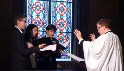 Rameaux 2015 - 23 - Miserere d'Allegri à la communion - le chœur des enfants
