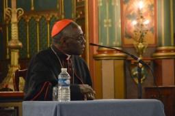 Son Eminence le cardinal Sarah à Saint-Eugène 09