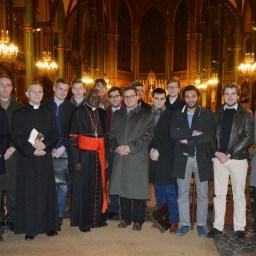 Son Eminence le cardinal Sarah à Saint-Eugène 14