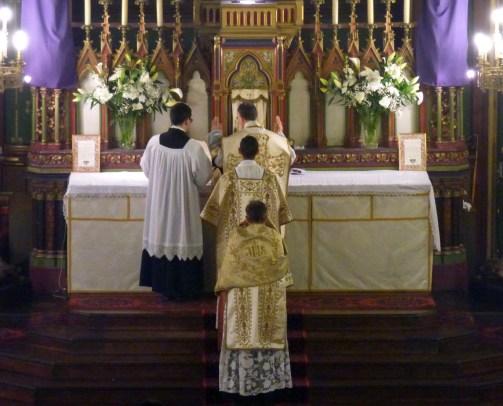 06 - Jeudi Saint 2015 - chant de la préface