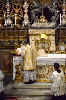 02 Messe de la fête de sainte Catherine de Sienne à l'église de la Miséricorde à Turin