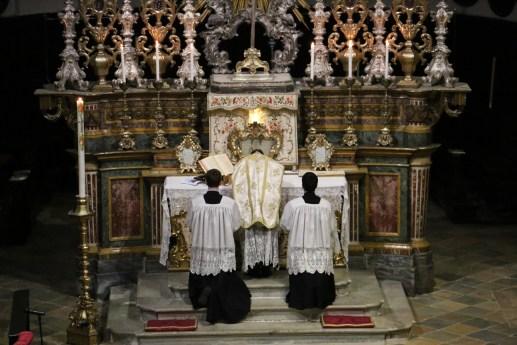 08 Messe de la fête de sainte Catherine de Sienne à l'église de la Miséricorde à Turin