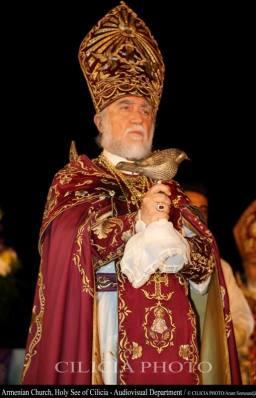 05-Consécration du saint myron par Aram Ier