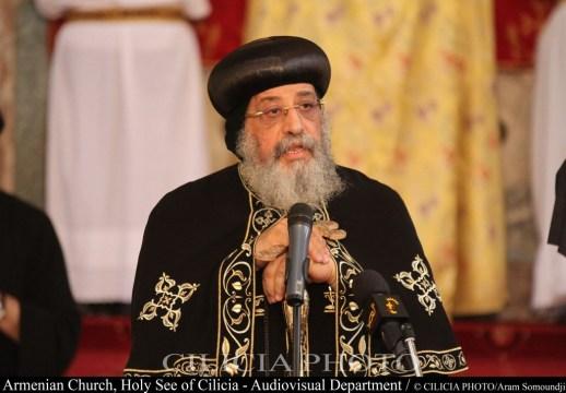 28-Le patriarche d'Alexandrie des Coptes