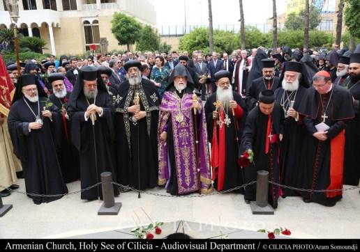 30-Hommage aux saints Martyrs victimes du génocide turc