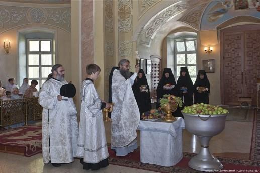 Bénédiction des fruits à la Transfiguration en Russie 04
