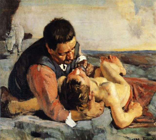 Ferdinand Hodler - Le Bon Samaritain