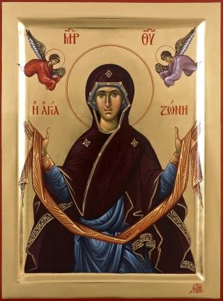 La précieuse ceinture de la Mère de Dieu