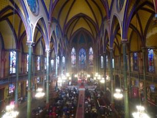 12 - La nef de Saint-Eugène pendant l'offeroire - Sainte Cécile 2015