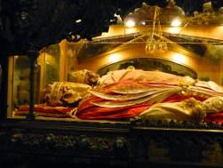Reliques des saints Ambroise Gervais et Protais à Milan