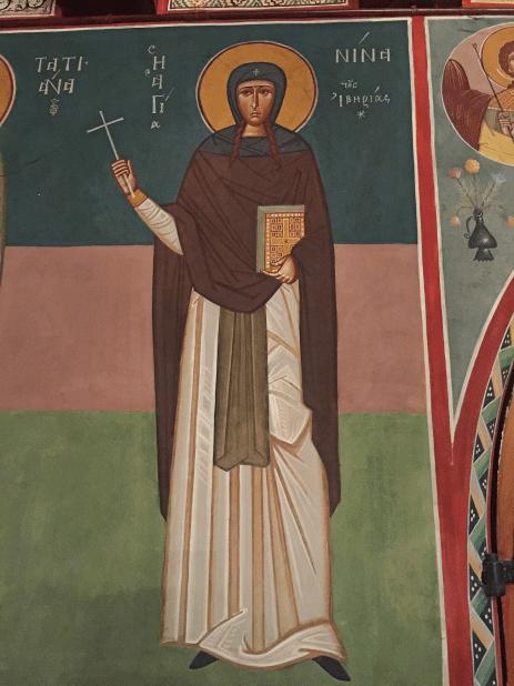 Chevetogne - Sainte Nino égale aux Apôtres, qui évangélisa la Géorgie
