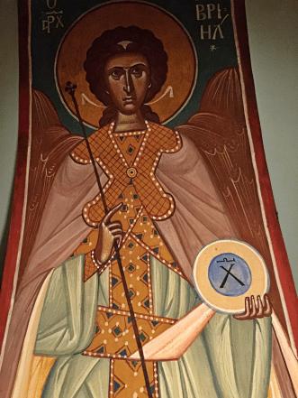 Chevetogne - fresques de l'église basse