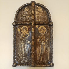 Chevetogne - portes royales