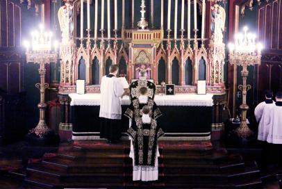 07-Requiem pour Louis XVI - oraison Suscipe Sancta Trinitas à la fin de l'offertoire