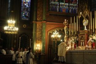 11-Messe de reposition des Quarante-Heures coram Sanctissomo - chant de l'évangile