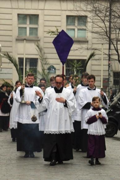 04 - Rameaux 2016 - La procession des rameaux