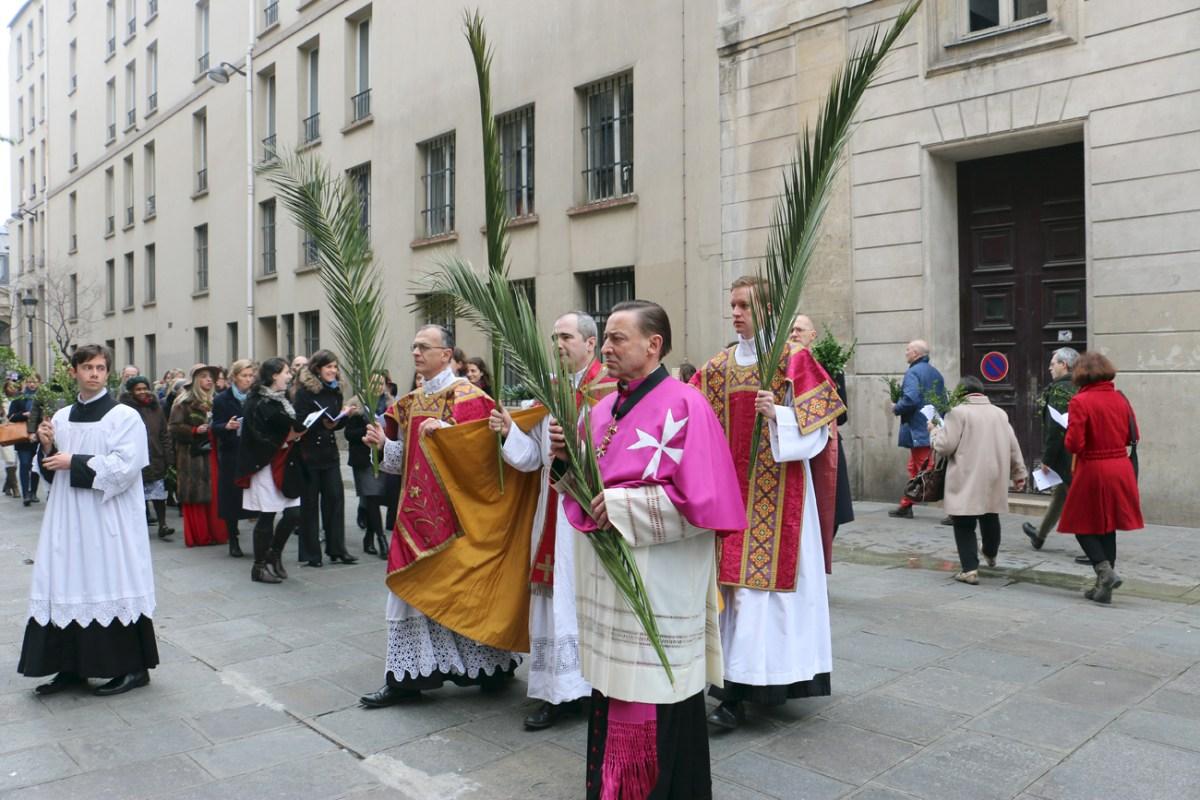 Enregistrements & photos : dimanche des Rameaux