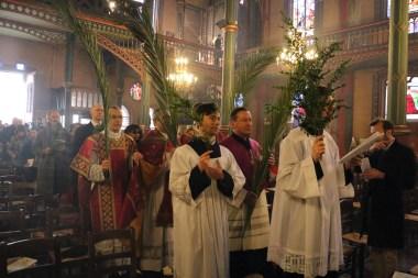 08 - Rameaux 2016 - La procession des rameaux