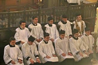 06 - Dimanche du Bon Pasteur 2016 - une partie des séminaristes
