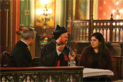 Mgr Nicodemus Daoud Sharaf, archevêque syriaque de Mossoul, témoigne à Saint-Eugène
