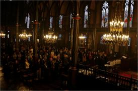 Les Parisiens sont venus nombreux écouter l'évêque de Mossoul.