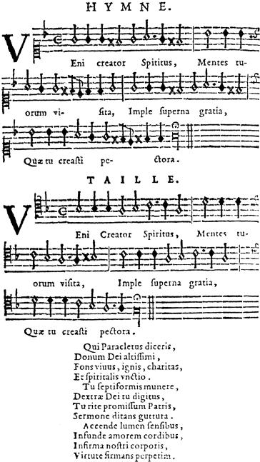 D'Ambleville - Ballard 1623 - Veni Creator