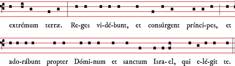 Epître - saint Jean-Baptiste - rit dominicain