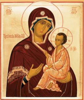Icône de Tikhvine - copieIcône de Tikhvine - copie