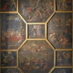 Le plafond de la chapelle XVII ème