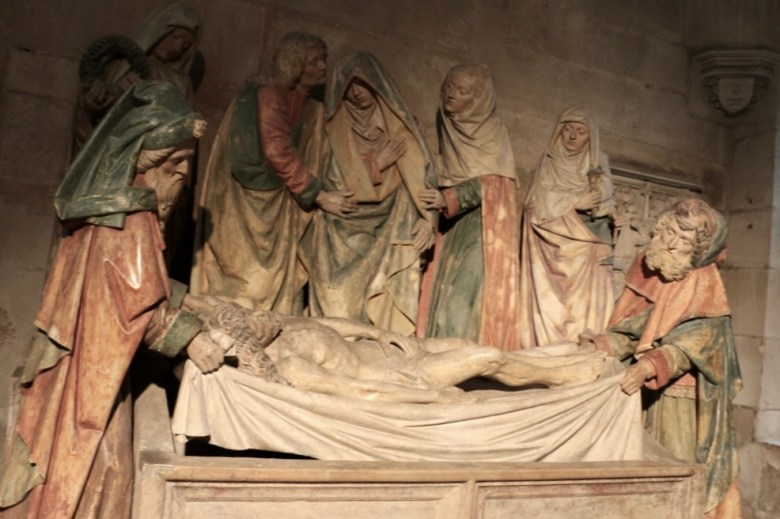 Mise au tombeau de Semur-en-Auxois.