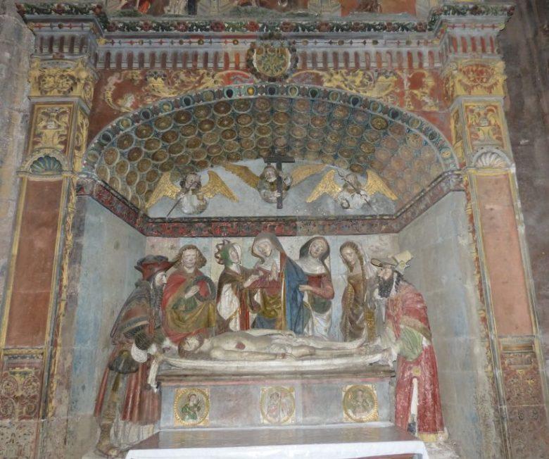 La mise au tombeau de Rodez.