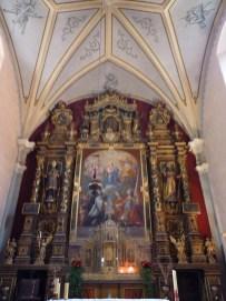 Tignes, église paroissiale.