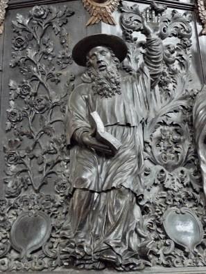 Beaufort-sur-Doron, église Saint-Maxime , détail de la chaire.