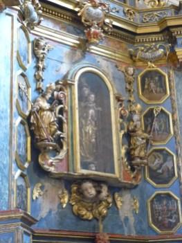 Hauteville-Gaudon, église Saint-Martin, retable du rosaire.
