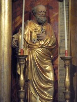 Saint-Jean-de-Belleville, église Saint-Jean-Baptiste : Saint Pierre.