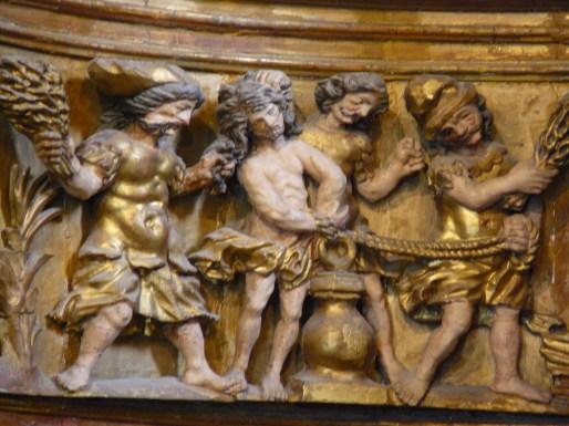 Saint-Sigismond de Champagny-en-Vanoise : la flagellation.