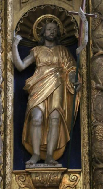 Termignon - église Notre-Dame de l'Assomption - saint Jean-Baptiste