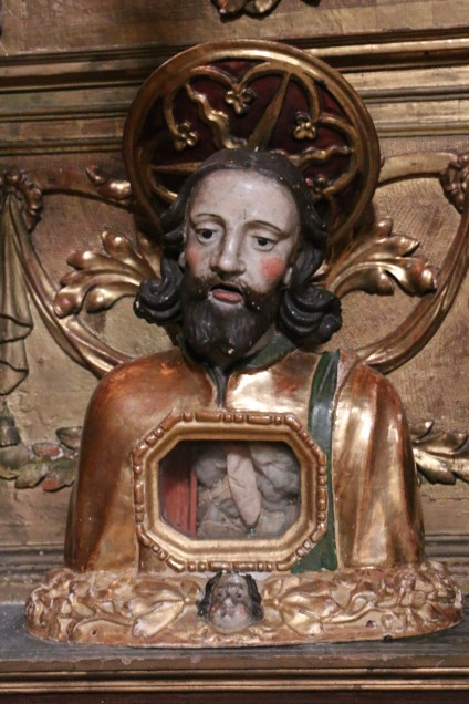 Termignon - église Notre-Dame de l'Assomption - reliquaire